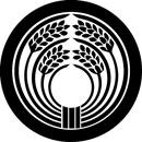 丸に四ツ穂稲の丸